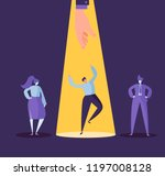 business recruitment concept... | Shutterstock .eps vector #1197008128