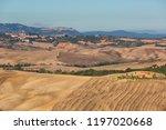 typical autumn rural landscape... | Shutterstock . vector #1197020668