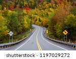 scenic road in the mountains...   Shutterstock . vector #1197029272