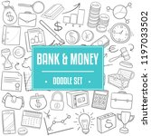 bank money traditional doodle... | Shutterstock .eps vector #1197033502
