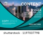 presentation layout design... | Shutterstock .eps vector #1197037798