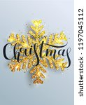 greeting card  invitation with... | Shutterstock .eps vector #1197045112