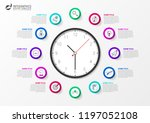 infographic design template.... | Shutterstock .eps vector #1197052108