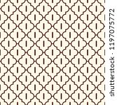 oriental traditional pattern.... | Shutterstock .eps vector #1197075772