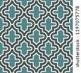 oriental traditional pattern.... | Shutterstock .eps vector #1197075778