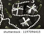 wrapping modern christmas or... | Shutterstock . vector #1197096415