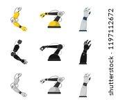 vector illustration of robot... | Shutterstock .eps vector #1197112672