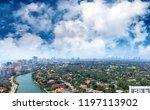 miami beach  florida. panoramic ... | Shutterstock . vector #1197113902