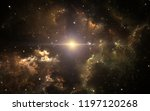 the parent supernova of our... | Shutterstock . vector #1197120268