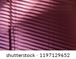 the shadows from the wooden... | Shutterstock . vector #1197129652