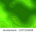 paper cut background. abstract ... | Shutterstock . vector #1197153658