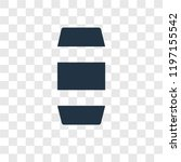 thread vector icon isolated on... | Shutterstock .eps vector #1197155542