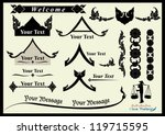 thai arts and asia element... | Shutterstock .eps vector #119715595