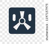 toxic waste vector icon... | Shutterstock .eps vector #1197157975