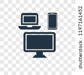 mass media vector icon isolated ... | Shutterstock .eps vector #1197161452