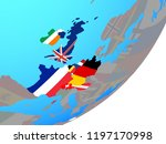 western europe with embedded... | Shutterstock . vector #1197170998