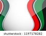 flag color of united arab... | Shutterstock .eps vector #1197178282