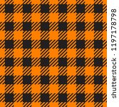 vector seamless pattern. cell...   Shutterstock .eps vector #1197178798