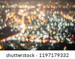 abstract  beautiful bokeh... | Shutterstock . vector #1197179332