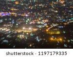 abstract  beautiful bokeh... | Shutterstock . vector #1197179335