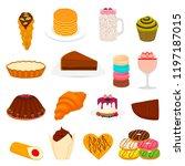 vector icon illustration logo... | Shutterstock .eps vector #1197187015