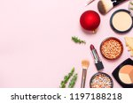 various cosmetic products for... | Shutterstock . vector #1197188218