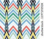 abstract seamless pattern of... | Shutterstock .eps vector #1197193528