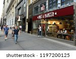 new york  usa   may 26  2018 ... | Shutterstock . vector #1197200125