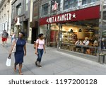 new york  usa   may 26  2018 ... | Shutterstock . vector #1197200128