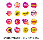 sale banner templates design.... | Shutterstock .eps vector #1197241552