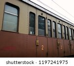 antique railway wagon for... | Shutterstock . vector #1197241975
