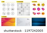 seamless pattern. shopping mall ...   Shutterstock .eps vector #1197242005
