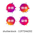 export file icons. convert doc... | Shutterstock .eps vector #1197246202