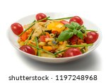 fried vegetable mix with...   Shutterstock . vector #1197248968