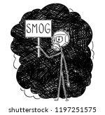 cartoon stick drawing...   Shutterstock .eps vector #1197251575