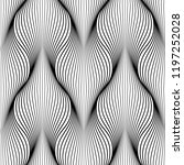 geometric abstract pattern....   Shutterstock . vector #1197252028