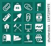 tool filled set of vector icons ...   Shutterstock .eps vector #1197259975