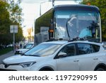 moscow  russia   october  6 ... | Shutterstock . vector #1197290995