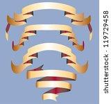 banner scrolls | Shutterstock .eps vector #119729458