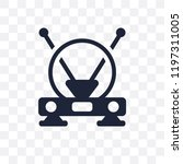 antenna transparent icon.... | Shutterstock .eps vector #1197311005