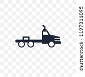 flatbed lorry transparent icon. ...   Shutterstock .eps vector #1197311095