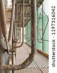 construction catwalk for...   Shutterstock . vector #1197316042