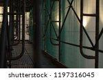 construction catwalk for...   Shutterstock . vector #1197316045