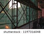 construction catwalk for...   Shutterstock . vector #1197316048