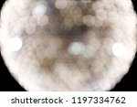 bokeh abstract blurred light in ... | Shutterstock . vector #1197334762
