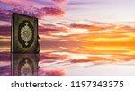 koran   holy book of muslims  ... | Shutterstock . vector #1197343375