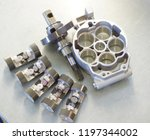 disassembled air conditioning... | Shutterstock . vector #1197344002