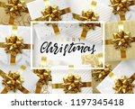christmas background. design... | Shutterstock .eps vector #1197345418