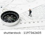 map of property or real estate... | Shutterstock . vector #1197362605