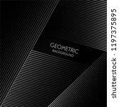 geometric lines elegant shape...   Shutterstock .eps vector #1197375895